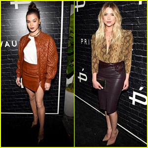 Hailee Steinfeld & Ashley Benson Team Up for Trendy Business Adventure