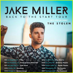 Jake Miller Drops 'Back to the Start Tour' 2017 Dates - Full List Here!