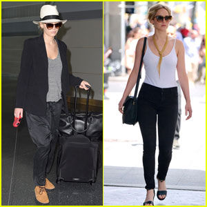 Jennifer Lawrence Emerges Following Plane Emergency Landing Incident