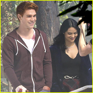 KJ Apa & Camila Mendes Film First Scenes for 'Riverdale' Season 2
