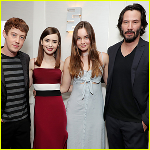 Lily Collins Joins Her 'To The Bone' Co-Stars for Special Screening