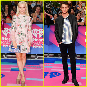 Dove Cameron & Brandon Flynn Get Ready for Big Night at MMVAs 2017!