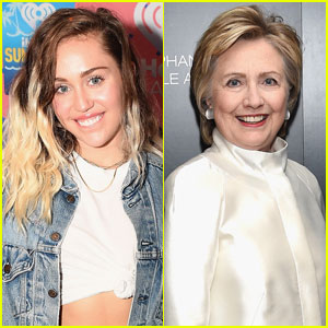Miley Cyrus Was 'Inspired' by Hillary Clinton When Penning Her New Song