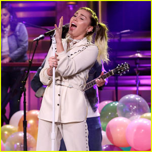 Miley Cyrus Brings 'Malibu' to NYC on 'Fallon Tonight' - Watch Now!