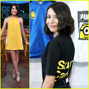 Miranda Cosgrove Wears 'All Her Exes' Names On The Back Of Her Minion Tee