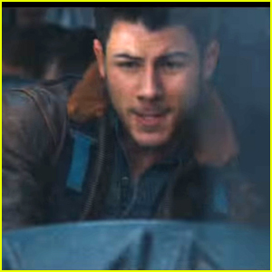 Nick Jonas Is The Hero In 'Jumanji: Welcome To The Jungle's First Trailer - Watch Now!
