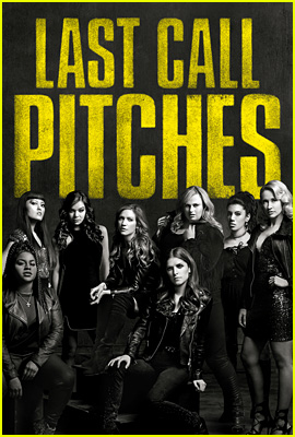 It's Last Call Pitches on 'Pitch Perfect 3' Poster