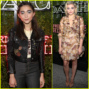 9ac9282d99df Rowan Blanchard Joins Chloe Moretz at Coach s Summer Party in NYC
