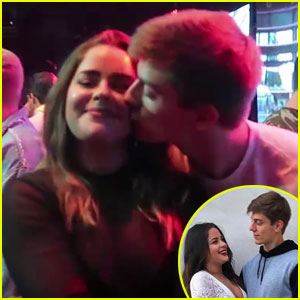 Are Tessa Brooks & Chance Sutton Dating? Social Media Stars Kiss! (Video)