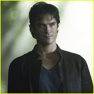 Damon Sinks His Teeth into Someone in 'Vampire Diaries' Season 8 Deleted Scene - Watch Now!