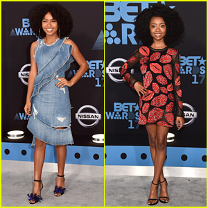 Yara Shahidi & Skai Jackson Are Young Fashionistas at BET Awards 2017!