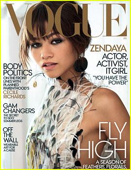 Zendaya Talks Disney, Having Power & More for 'Vogue' Cover!
