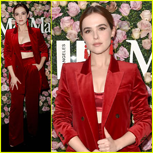 Zoey Deutch Gets Honored With Max Mara's Face of the Future Award!