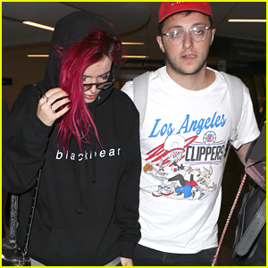 Bella Thorne & Prince Fox Arrive Back in LA After Promoting New Collab in NYC