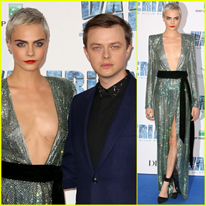 Cara Delevingne Looks Flawless in Sequined Dress in Paris!