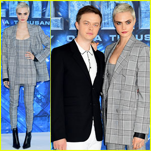 Cara Delevingne 'Excited' To Bring 'Valerian' To London!