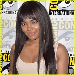 China Anne McClain Previews Her New Show 'Black Lightning': 'It's Literally Lit'
