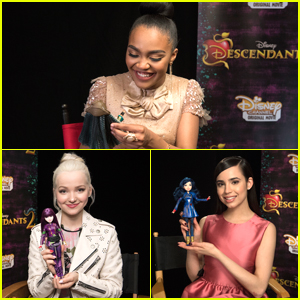 China Anne McClain Unboxes Her First 'Descendants 2' Uma Doll & It's The Cutest Thing Ever!