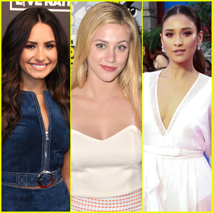 Shay Mitchell, Demi Lovato & More Celebs React to the Trans Military Ban