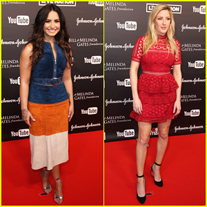 Demi Lovato & Ellie Goulding Hit the Stage at Global Citizen Festival Hamburg!