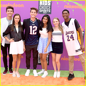 'I Am Frankie' Cast Hits Kids' Choice Sports Awards in LA
