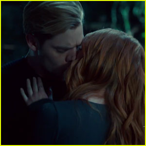 Shadowhunters' Dominic Sherwood Dishes on That Steamy Jace & Clary Kiss