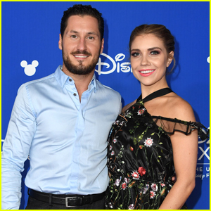 Jenna Johnson Dances With Val Chmerkovskiy at D23 Expo's Legends Awards Ceremony - Pics!