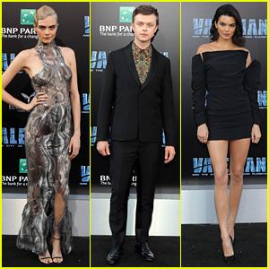 Cara Delevingne, Dane DeHaan, & Kendall Jenner Team Up at 'Valerian' Premiere