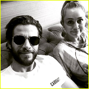Miley Cyrus & Liam Hemsworth Are Such a Cute Couple in New Photo!