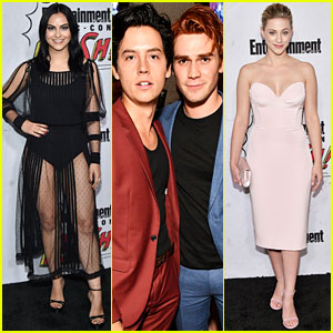 'Riverdale' Stars Check Out EW's Comic-Con 2017 Party!