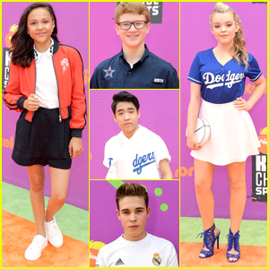 'School Of Rock' Celebrates Emmy Nom at Kids' Choice Sports Awards 2017