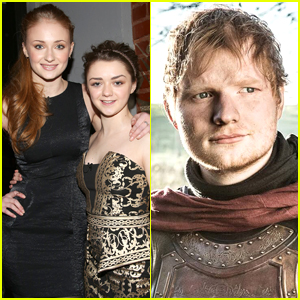 Sophie Turner Told Maisie Williams About Ed Sheeran's GOT Cameo on Accident