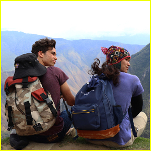 'Descendants 2' Stars Cameron Boyce & Booboo Stewart Climb Machu Picchu Together