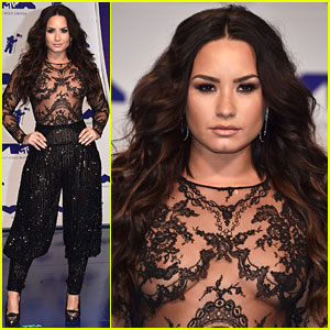 Demi Lovato's Sheer MTV VMAs 2017 Look Is Perfect!