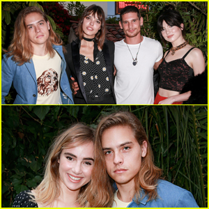 Dylan Sprouse Joins 'Carte Blanche' Co-Stars at Cast Party