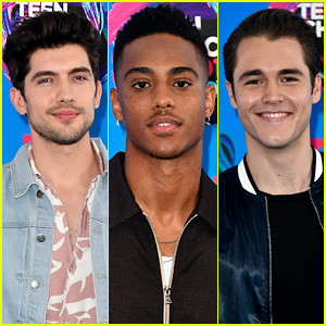 'Famous in Love' Hotties Carter Jenkins, Keith Powers, & Charlie DePew Attend the TCAs 2017!