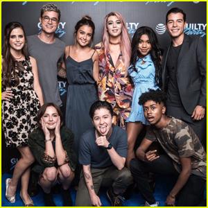 Teala Dunn, Manolo Gonzalez Vergara & Cast of 'Guilty Party' Host Family & Friends Screening