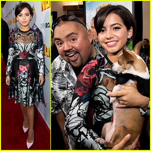 Isabela Moner Looks Classy in Flowers & Lace at 'Nut Job 2' Premiere