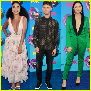 Jean-Luc Bilodeau Brings 'Baby Daddy' to Teen Choice Awards 2017