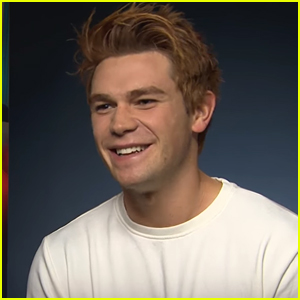 KJ Apa is NOT a Fan of That Gif of Himself Blinking on 'Riverdale'