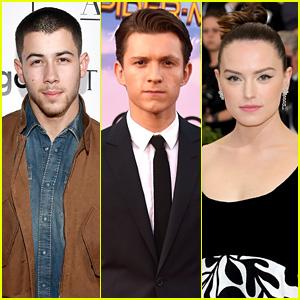 Nick Jonas, Tom Holland, & Daisy Ridley Team Up for 'Chaos Walking'