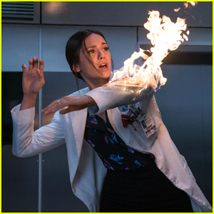 Nina Dobrev Was Literally Set On Fire For 'Flatliners'