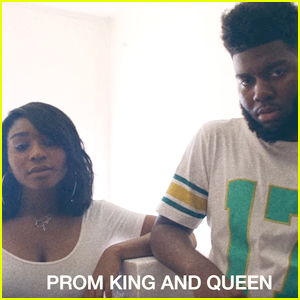 Normani Kordei Dazzles As Prom Queen in Khalid's 'Young Dumb & Broke' Music Video