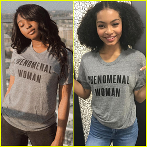 Normani Kordei, Yara Shahidi, & Zendaya Speak Out About Black Women's Equal Pay Day