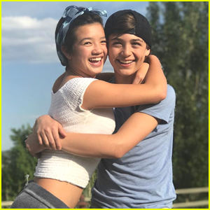 Andi Mack's Peyton Elizabeth Lee & Asher Angel Clear Up Dating Rumors