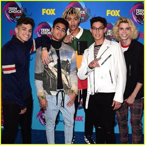PRETTYMUCH Conquer Their First Teen Choice Awards 2017!