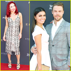 Sharna Burgess Is Back To 'Sharna Red' For DWTS Season 25