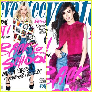 Sofia Carson & Dove Cameron Heat Up the Summer Cover of 'Seventeen' Mexico