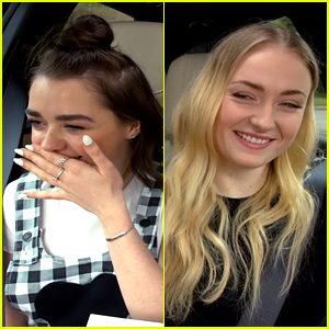 Sophie Turner Makes Maisie Williams Crack Up with 'Hakuna Matata' Line Reading! (Video)