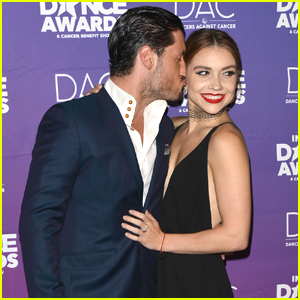 Val Chmerkovskiy & Jenna Johnson Have a Date Night Out at Industry Dance Awards 2017